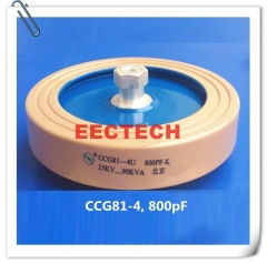 CCG81-4, 800PF, 25KVDC disc type ceramic capacitor