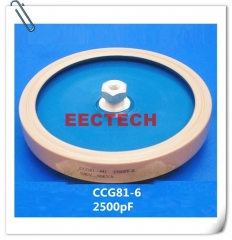CCG81-6, 2500PF, 10KVDC high voltage ceramic capacitor