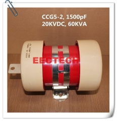 CCG5-2, 1500pF, 20KVDC ceramic power capacitor