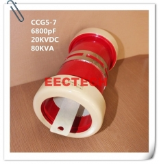 CCG5-7, 6800pF, 20KVDC ceramic power capacitor