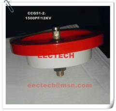 CCG51-2, 1500PF, 12KVDC feed through capacitor