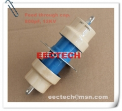 800PF/12KV feed through capacitor equal to DS030110