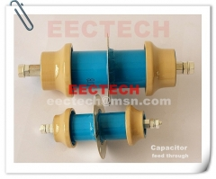 FT45120, 1000PF, 11KVDC feed through capacitor, equal to DB045120