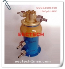 Water cooling capacitor (WCC) 095190, 1500pF/14KV, equal to CCGSZ095190