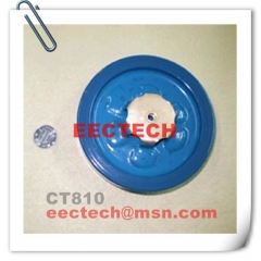 CT810-1, 4700PF, 8VDC leg lead ceramic capacitor