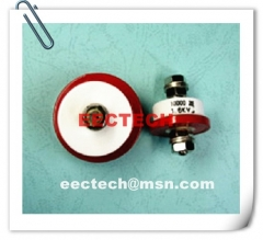 CT85-2, 12000PF, 0.5KV, feed through ceramic capacitor, CCY-C-4 equivalent
