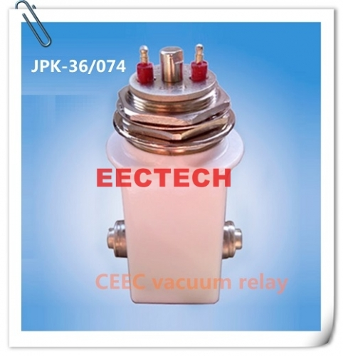 High voltage switching relay JPK-36/074, 24 VDC ceramic vacuum relay