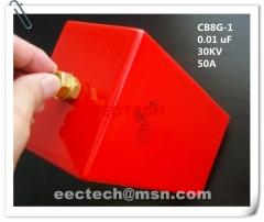 CB8G -1, 0.01uF, 30KV, 50A dry-type compound die capacitor