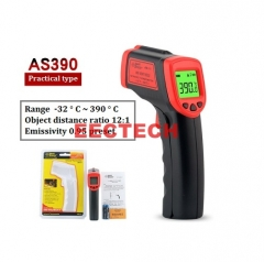Xima Infrared Thermometer Professional-grade Handheld Thermometer Electronic Digital Thermometer AS390【-32°C~390°C】