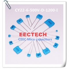 CY22-6-500V-D-1200-I mica capacitor from Beijing EECTECH