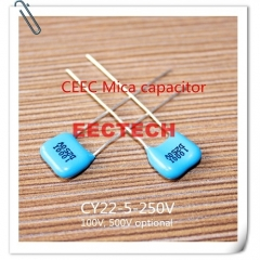 CY22-5-250V-D-1000-I mica capacitor from Beijing EECTECH