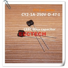 CY2-1A-250V-D-47-I mica capacitor from Beijing EECTECH