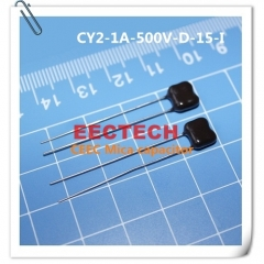 CY2-1A-500V-D-15-I mica capacitor from Beijing EECTECH