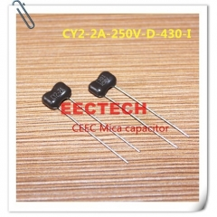 CY2-2A-250V-D-430-I mica capacitor from Beijing EECTECH