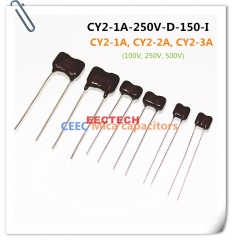 CY2-1A-250V-D-150-I mica capacitor from Beijing EECTECH
