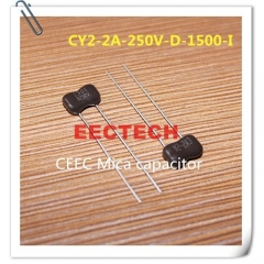 CY2-2A-250V-D-1500-I mica capacitor from Beijing EECTECH
