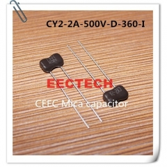 CY2-2A-500V-D-360-I mica capacitor from Beijing EECTECH
